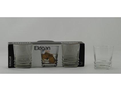 ELEGAN Odlivka voda 19 cl čirá