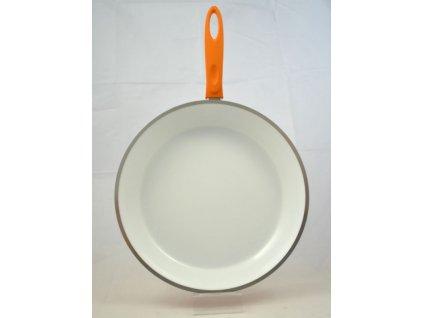 II.jakost CHIRON pánev keramická oranžová 32 cm