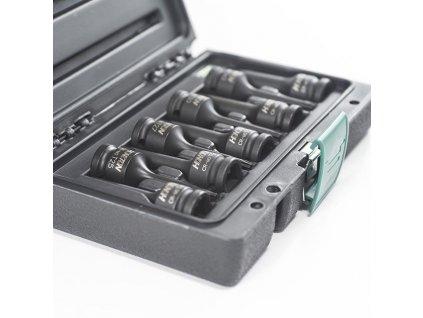 """HONITON H5-IBS40009T Sada průmyslových zástrčných TRX 1/2"""" 9ks T25-27-30-40-45-50-55-60-70x78mm"""