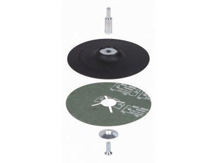 KREATOR KRT259003 Podkladová deska pro vrtačky prům.125mm stopka