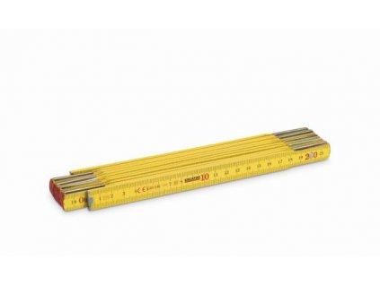 Skládací metr dřevěný