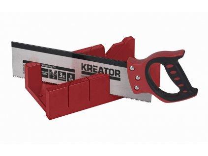 KREATOR KRT809001 Čepovací pila 350mm plus BOX