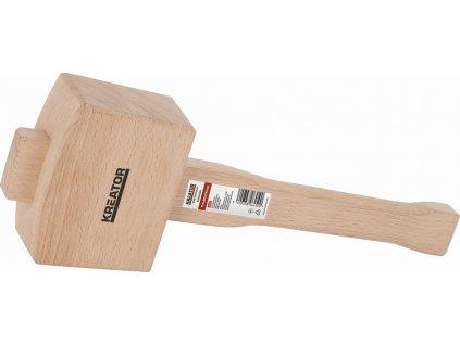 """KREATOR KRT905005 Dřevěná palice pro truhláře 4,5"""""""