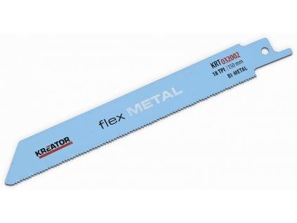 KREATOR KRT032002 Pilový plátek pro ocasovou pilu na kov 150-18 2 ks