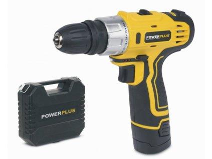 Powerplus POWX0041LI Aku šroubovák / vrtačka 12V LI-ION
