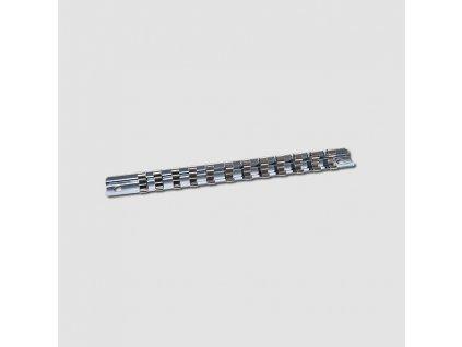 """Závěsný kovový držák na hlavice 1/4"""" 12dilů 185mm"""