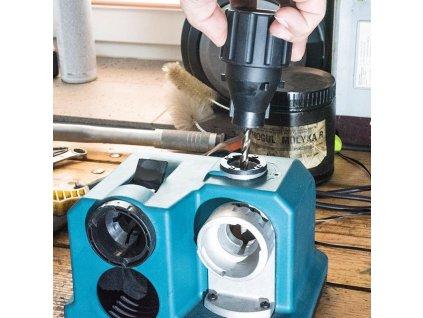 XTline XT108808 Elektrická bruska na vrtáky 80W