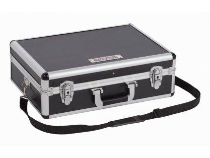 Hliníkový kufr 460x330x155mm černý