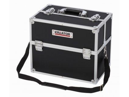 Hliníkový kufr 360x230x300mm černý
