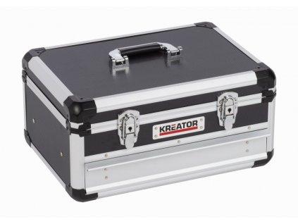 Hliníkový kufr 430x300x205mm 1 zásuvka