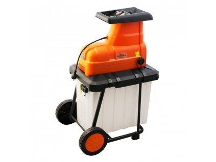 Elektrický štěpkovač zahradního odpadu 2500W