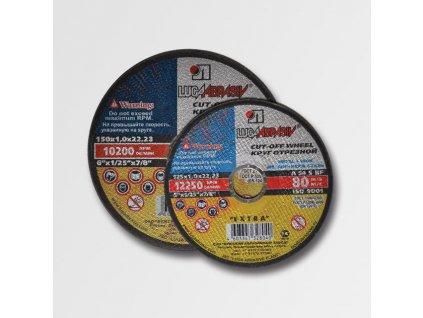 Kotouč řezný na ocel a nerez 230x1,6x22,2
