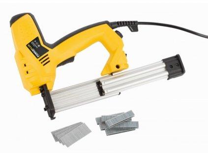POWX13800 - Elektrická sponkovačka / hřebíkovačka 50W