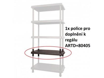 Náhradní-přídavná police k regálu ARTD+80405