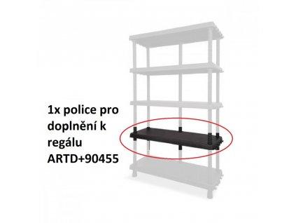 Náhradní-přídavná police k regálu ARTD+90405