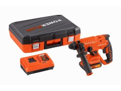 POWDP15640 - Aku kombinované kladivo 20V bezuhlíkové SET