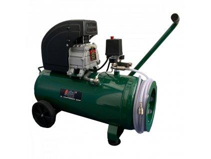 Kompresor olejový 2,5 HP, 50L s10m tlakovou hadicí