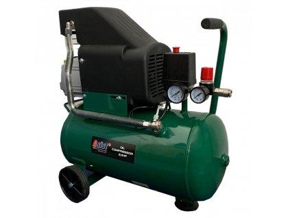 Kompresor olejový 2,0 HP, 24L s regulací tlaku