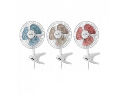Stolní ventilátor 15 cm Botti MONSUN barva bílá