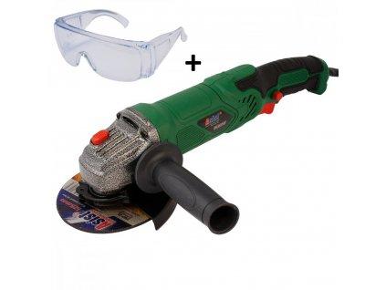 Úhlová bruska 900W, 125mm + ZDARMA ochranné brýle