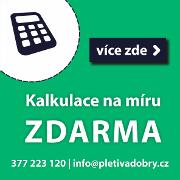 Kalkulace Zdarma!