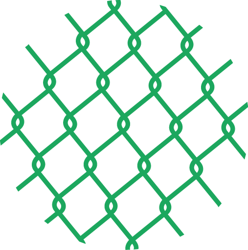 Poplastované pletivo PVC čtyřhranné bez napínacího drátu (bez ND) KLASIK