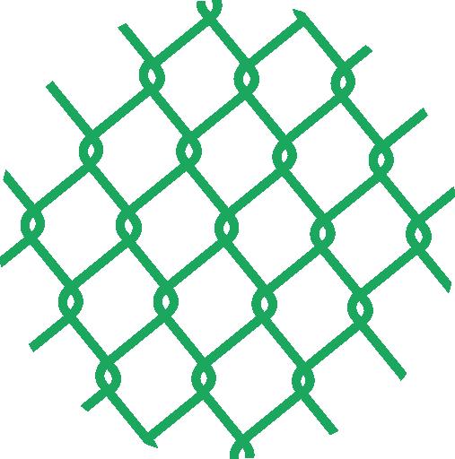 Poplastované pletivo PVC čtyřhranné bez napínacího drátu (bez ND) SUPER