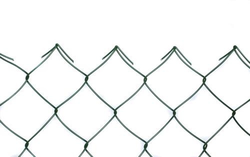 Poplastované pletivo PVC čtyřhranné bez napínacího drátu (bez ND)