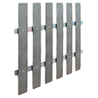 Plastové plotovky WPC šířka 120 mm, síla 11 mm