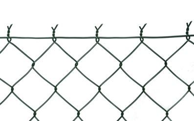 Poplastované pletivo (PVC) s napínacím drátem (s ND)