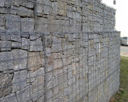 Gabionová síť 150x50 cm, oko 10x10 cm pro stavbu gabionu