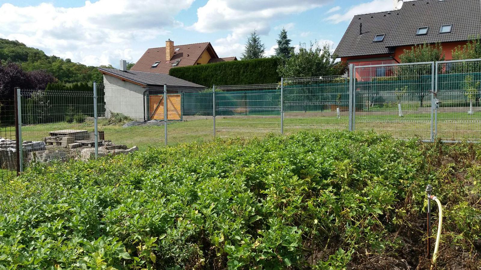 Pletiva Dobrý, plotové panely - pozink