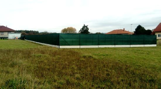 Montáž plotu Plzeň-sever - čtyřhranné pletivo