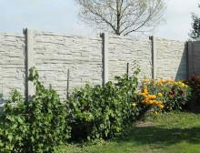 Montáž betonového plotu – Újezd u Příchovic