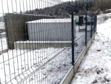 Montáž 3D antracitových plotových panelů – Příšov