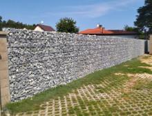 Montáž gabionové sypané stěny – Chotíkov
