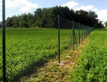 Montáž čtyřhranného plotového pletiva – Plzeň