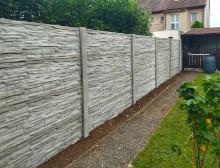 Montáž betonového plotu – Klatovy