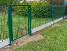 Montáž 3D plotových panelů – Stříbro