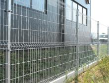 Montáž 3D pozinkovaných plotových panelů – Příšov