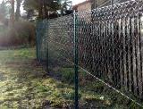 Montáž drátěného plotu ve svahu- Kraslice - Sokolovsko
