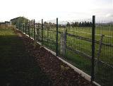 Realizace - Tábor - montáž plotových panelů