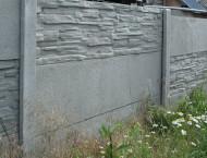 Montáž betonového plotu – Zbůch