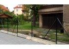 Vzpěra poplastovaná antracit - PVC, výška 200 cm, 38 mm průměr
