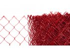 Pletivo poplastované výška 100 cm bez ND (2,5mm;50x50mm;PVC; červené)