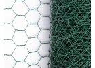 Králičí pletivo chovatelské, zelené (PVC), oko 25 mm, 100 cm výška
