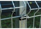 Příchytka panelu U na sl. 60x40 PVC - ČERNÁ