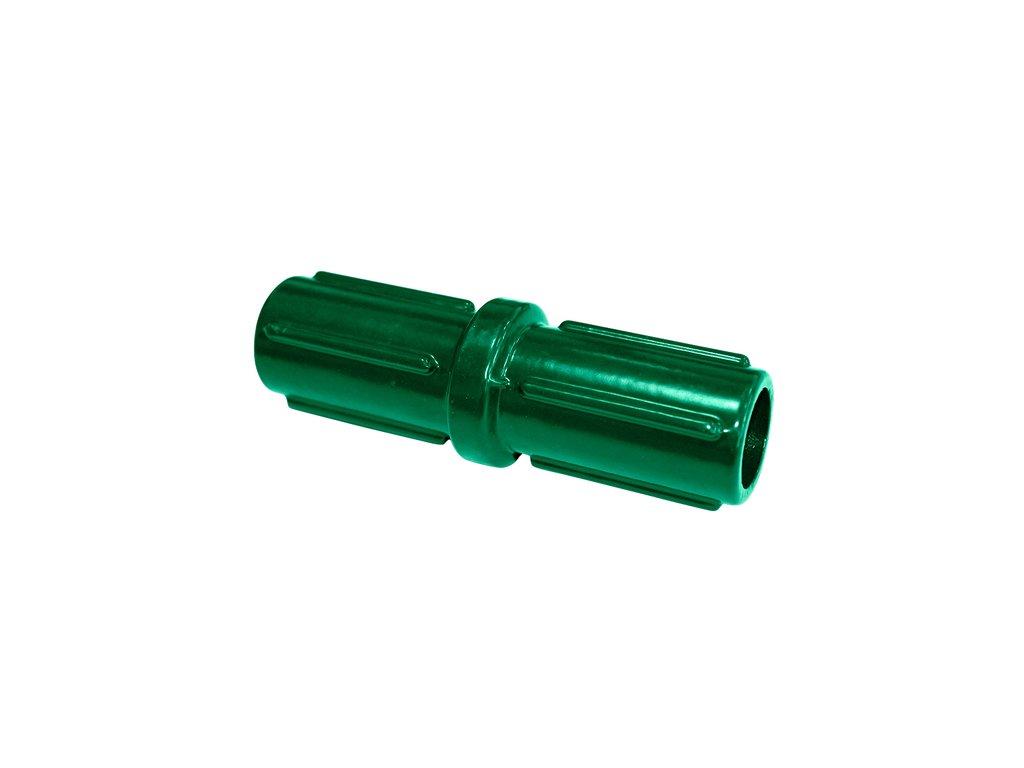 Spojka zelená pro plotové sloupky 38 mm