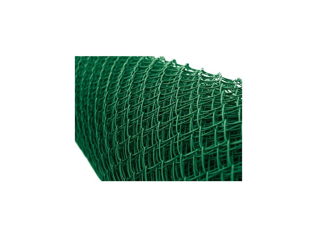 Poplastované pletivo zelené pvc s ND, 350 cm, oko 45x45 mm, TENIS