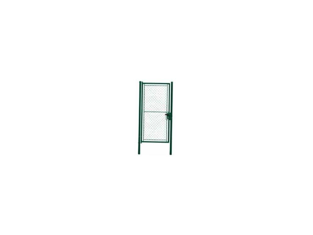 Branka jednokřídlá s FAB, 125x220 cm, zelená, TENIS